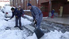 Las palas se agotan en las ferreterías de Ávila tras el temporal de nieve