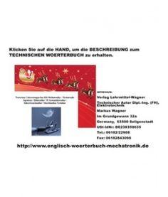 Wollen Sie ein Technisches Woerterbuch zu Weihnachten kaufen?