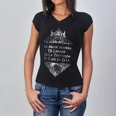 Las 23 mejores imágenes de Camisetas con frases para mujer