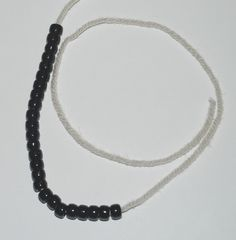 Using Prestrug Beads in Knitting Projects: Stringing the Beads