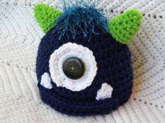 Crochet Monster Beanie