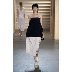 Tibi Simone Silk Pleat Culotte #tibi