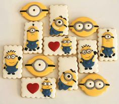 Minion biscuits