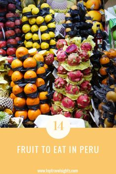 Top 14 Fruit to Eat in Peru - Top Travel Sights