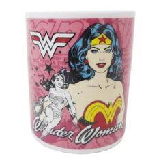 Caneca de Porcelana  - Mulher-Maravilha / Wonder Woman DC