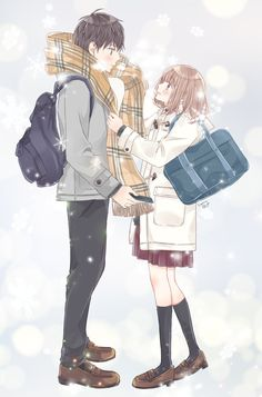 Digital art couple love 16 ideas for 2019 Anime Couples Manga, Cute Anime Couples, Anime Guys, Manga Anime, Anime Love Couple, Couple Art, Otaku Issues, Animated Love Images, Manga Cute