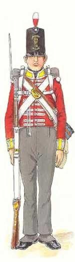 28th (North Gloucestershire) REGIMENT OF FOOT SOLDADO DE COMPAÑIA DE LINEA - Década 1810/20. Más en www.elgrancapitan.org/foro