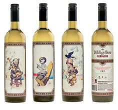 These labels really make my imagination run wild... more great wine packaging on their website too!
