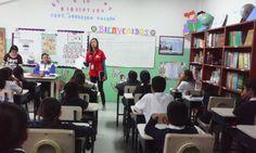 Escuela Básica Teresa Manrique - Búsqueda de Twitter.Charla Prevención del Delito...