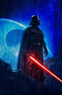 Vader Star Wars, Darth Vader, Star Wars Art, Sith, Star Wars Episode 2, Jedi Knight, Star Wars Wallpaper, Anakin Skywalker, Star Wars Poster