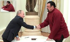 Putin presents Russian passport to Hollywood actor Seagal #DailyMail
