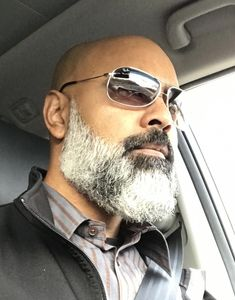 The Beard & The Beautiful Bald Men With Beards, Bald With Beard, Black Men Beards, Black Beards Styles, Beard Styles Names, Beard Styles For Men, Hair And Beard Styles, Bald Beard Styles, Shaved Head With Beard