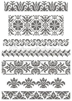 Designing Your Own Cross Stitch Embroidery Patterns - Embroidery Patterns Cross Stitch Sampler Patterns, Cross Stitch Borders, Crochet Borders, Cross Stitch Designs, Cross Stitching, Border Embroidery, Hand Embroidery Designs, Cross Stitch Embroidery, Embroidery Patterns