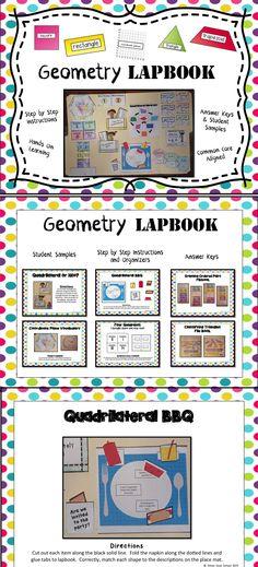Geometry Lapbook - A