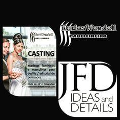 Karlos Wendell Cabeleireiro   Casting - Desfile e Editorial nova coleção  info: karloswendell@hotmail.com