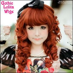 Gothic Lolita Wigs®  Lady Amara™ Collection - Auburn