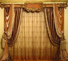 Top ideas for Classic curtains style in interior, #Classic #curtains with golden cornice