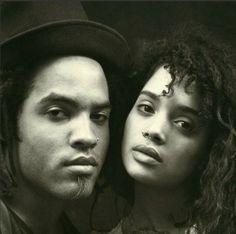 Lisa Bonet + Lenny Kravitz