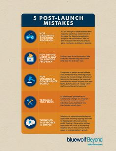 5 post-launch mistakes for CRM