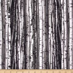 On the Wild Side Birch Tree Gray from @fabricdotcom  Designed by Maria Kalinowski of Kanvas for Benartex Fabrics, this cotton print is perfect for quilting and craft projects as well as apparel and home décor accents. Colors include grey, black and brown.