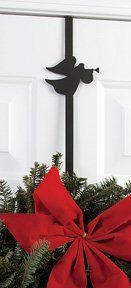 Angel Wreath Hanger 4.75in.W x 13in.H x 0in.D by V.W.I.. $24.84. Coated products have a baked on powder coating to ensure that our customers will enjoy each piece for many years.. Time-tested methods of craftsmanship.. Wrought Iron Durability. Quality Construction. Made in the USA. Approx. Dimension 4.75in.W x 13in.H x 0in.D