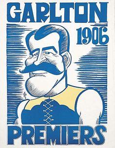 Flag '06 Real World Games, Carlton Afl, Carlton Football Club, Kelly's Heroes, Challenge Cup, Australian Football, Baggers, Go Blue, Football Team