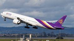 Photo of HS-TKK - Boeing 777-3ALER - Thai Airways International