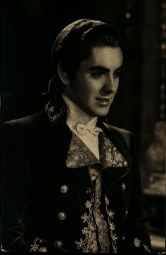 """**Tyrone Power ~ in the movie """"Marie Antoinette"""" also starring Norma Shearer**"""
