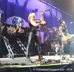Alice Cooper with Motley Crue in Moline