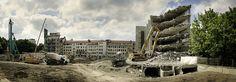 Dokumentation der Rodenstaock Baustelle vom Abriss bis zum fertigen Neubau.