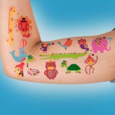 fun temporary tattoos