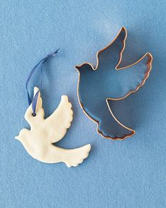 Salt dough dove