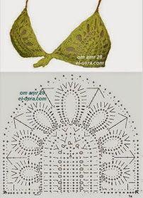 39 Fantastiche Immagini Su Costumi Da Bagno Alluncinetto Crochet