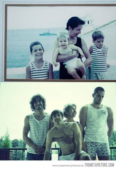 Love this idea! Time flies…so cute!!.....would love this one day with Cam Lukas & Noah:)