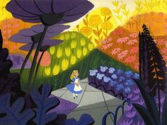 50 Beautiful Pieces Of Concept Art From Classic Disney Movies | by GOLDEN BOOKS' Mary Blair