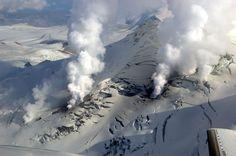 Fourpeaked Volcano, Alaska (Active)