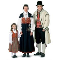 Traditional Norwegian clothing from and century. Norwegian Clothing, Frozen Costume, Scandinavian Countries, Living Dolls, Fantasy Costumes, Folk Costume, Traditional Dresses, Norway, Kids Outfits