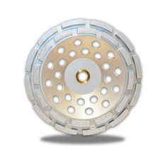 Zered Premium Cup Wheel Double Row For Concrete / Masonry, Grinding Cup Wheel Construction Tools, Grinding, The Row, Concrete, Ribbons