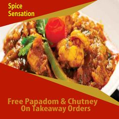 Spice Sensation offers delicious Indian Food in Longford, Coventry Browse takeaway menu and place your order with ChefOnline. For Delivery, Food Online, Coventry, Chutney, Indian Food Recipes, Spices, Menu, Fresh