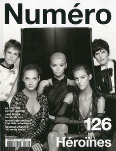 Numero September 2011 Cover (Numéro)