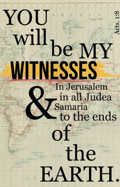 Acts 1:8 - ♥•.¸¸.•♥ JW.org has the Bible bible based study aids to read, watch, listen download in 300+ (sign included) languages. They also offer free in home bible studies. All at no charge.