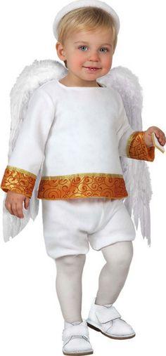 Disfraz de angelito para bebé Disponible en http://www.vegaoo.es/disfraz-de-angelito-para-bebe.html?type=product