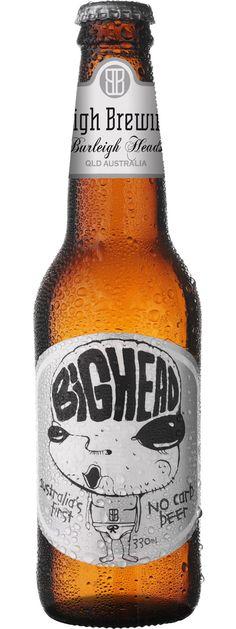 Burleigh Brewing Co: Big Head No Carb Beer