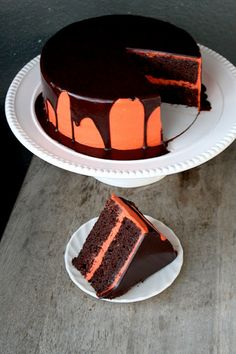 Its not your typical pumpkin cake.  Its better because its loaded with chocolate and cream cheese.