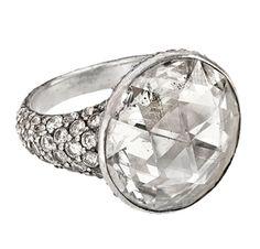 A Persian Rose-Cut Diamond Ring. Via FD Gallery, www.fd-inspired.com