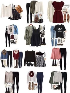 Outfit cute outfits for school, cute summer outfits, college outfits, outfits for teens Cute Outfits For School, Cute Summer Outfits, Cute Casual Outfits, Stylish Outfits, Fall Outfits, Back To School Outfits Highschool, Hipster Outfits, Outfit Summer, Teen Fashion Outfits