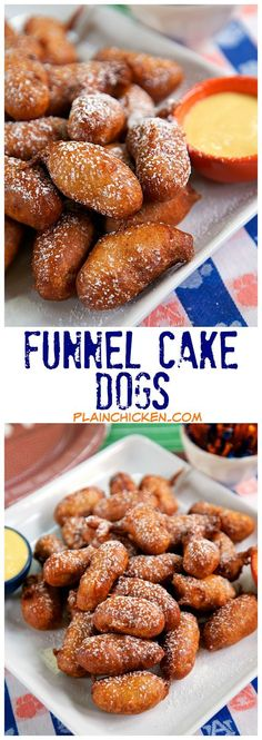Funnel Cake Dogs Recipe
