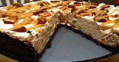 Snickers Bar Pie! 4 Points per Huge Slice! - weight watchers recipes