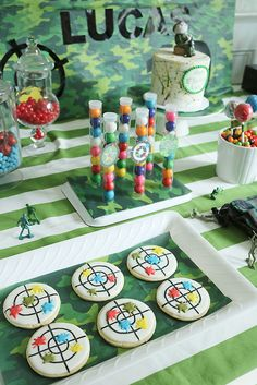 The birthday boy will love this paintball birthday party with live action and fun paintball birthday party decorations. Paintball Cake, Paintball Birthday Party, Ball Birthday Parties, Birthday Party Decorations, 9th Birthday, Birthday Ideas, Birthday Balloons, Birthday Cakes, Girl Birthday