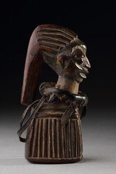 Yoruba Esu Shrine Figure, Nigeria